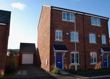Thumbnail 4 bed semi-detached house for sale in Damselfly Road, Dragonfly Meadows, Northampton