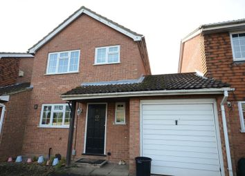 Thumbnail 3 bedroom link-detached house to rent in Kitwood Drive, Lower Earley, Reading
