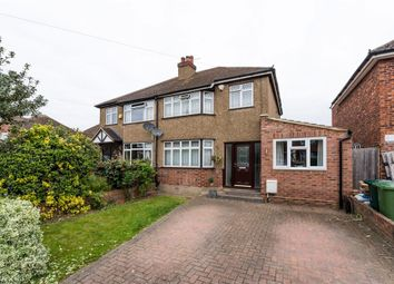 Thumbnail 4 bed semi-detached house for sale in Squires Road, Shepperton, Middlesex
