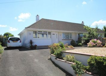 Thumbnail 2 bedroom semi-detached bungalow for sale in Dornafield Road, Ipplepen, Newton Abbot