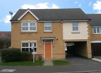 Thumbnail 4 bed detached house to rent in Turnstone Close, Coton Meadows, Rugby, Warwickshire