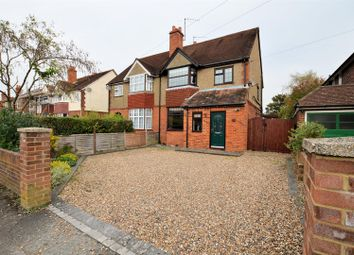 Thumbnail 4 bedroom semi-detached house for sale in Crescent Road, Tilehurst, Reading