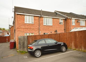 Thumbnail 2 bed flat for sale in St. Matthews Close, Renishaw, Sheffield