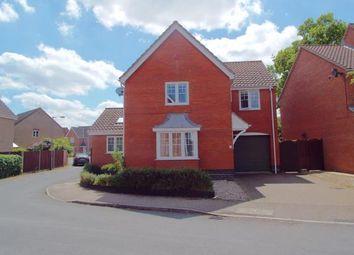 Thumbnail 4 bedroom detached house for sale in Dussindale, Norwich, Norfolk