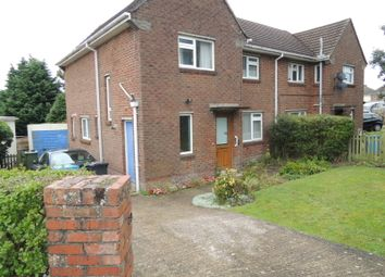 Thumbnail 3 bedroom semi-detached house for sale in Milborne Crescent, Poole