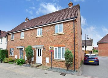 Thumbnail 3 bed end terrace house for sale in Deyley Way, Ashford, Kent