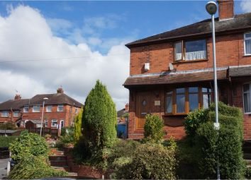 Thumbnail 3 bedroom semi-detached house for sale in Barnfield Road, Burslem, Stoke-On-Trent