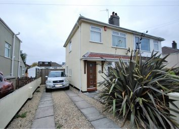 Thumbnail 3 bed semi-detached house for sale in Ashburnham Road, Plymouth