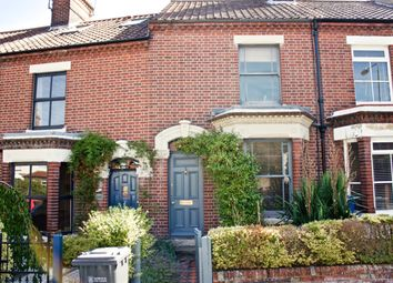 Thumbnail 2 bed terraced house to rent in College Road, Norwich, Norfolk