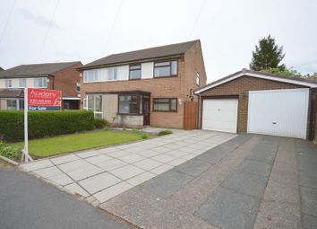 Thumbnail 3 bed semi-detached house for sale in Ryder Road, Widnes