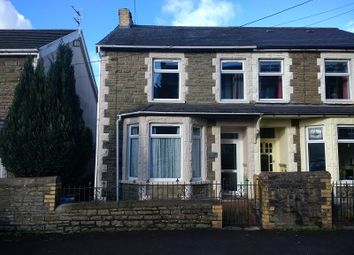 Thumbnail 3 bed semi-detached house for sale in 27 Wimborne Road, Pencoed, Bridgend.