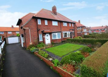 Thumbnail 3 bed semi-detached house for sale in Northstead Manor Drive, Scarborough