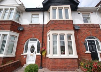 Thumbnail 3 bed terraced house for sale in Glastonbury Avenue, Blackpool