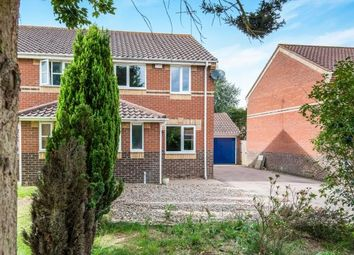 Thumbnail 3 bedroom semi-detached house for sale in Dussindale, Norwich, Norfolk