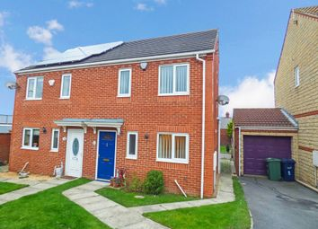 Thumbnail 3 bed semi-detached house for sale in Napoleon Close, Ryhope, Sunderland