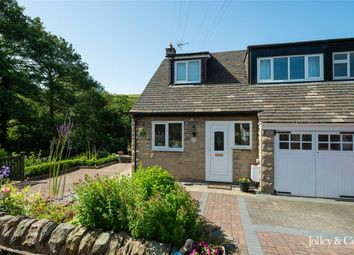 Thumbnail 3 bed semi-detached house for sale in 132 Laneside Road, New Mills, High Peak