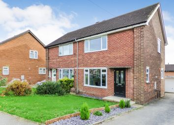 Thumbnail 3 bedroom semi-detached house for sale in Langdale Road, Woodlesford