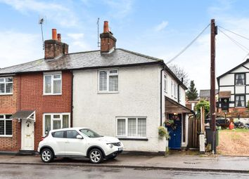 Thumbnail 2 bedroom end terrace house for sale in Bagshot, Surrey