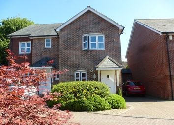 Thumbnail 2 bed semi-detached house for sale in Brill Close, Alresford