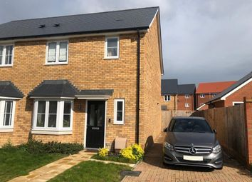Thumbnail 3 bed semi-detached house for sale in Barchamber Way, Gravesend, Kent