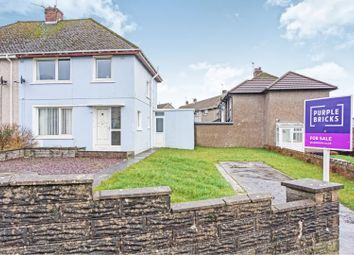 Thumbnail 3 bed semi-detached house for sale in Heol Shon, Cefn Cribwr