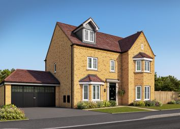 Thumbnail 5 bed detached house for sale in Hayton Way, Kingsmead, Milton Keynes
