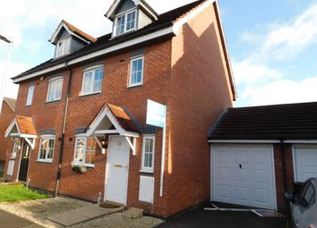 Thumbnail 3 bed semi-detached house to rent in Pickering Way, Stapeley, Nantwich