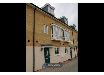 Thumbnail 3 bed terraced house to rent in Bank Avenue, Peterborough