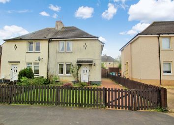 Thumbnail 2 bed semi-detached house for sale in Hillhead Avenue, Motherwell