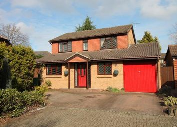 Thumbnail 4 bed detached house for sale in Frimley, Camberley, Surrey