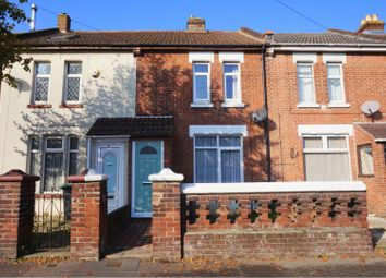 Thumbnail 3 bed terraced house for sale in Gordon Road, Gosport