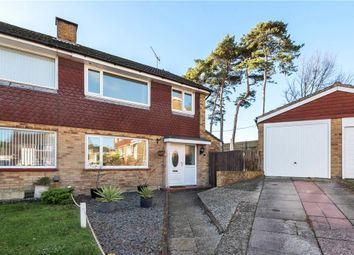 Thumbnail 3 bed semi-detached house for sale in Holly Close, Dorchester