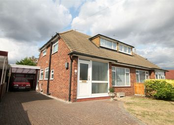Thumbnail 3 bed semi-detached house for sale in Lindsay Close, Stanwell, Staines-Upon-Thames, Surrey