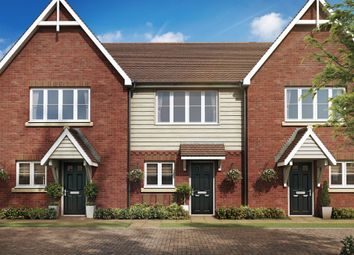 Thumbnail 2 bed end terrace house for sale in St Georges Road, Badshot Lea, Farnham