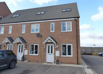 Thumbnail 3 bed terraced house for sale in Ferrous Way, North Hykeham, Lincoln