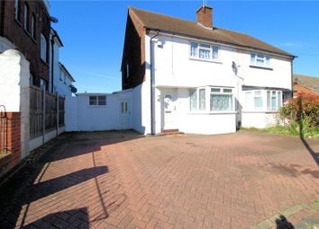 Thumbnail 2 bed semi-detached house for sale in Moat Lane, Slade Green, Kent