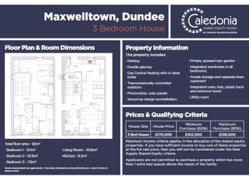 Thumbnail 3 bed property for sale in Alexander Street, Dundee