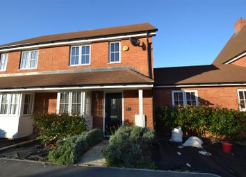 Thumbnail 3 bed semi-detached house to rent in Brookfield Drive, Horley