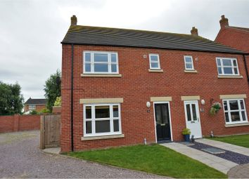Thumbnail 3 bed semi-detached house for sale in Ackrill Close, Coningsby