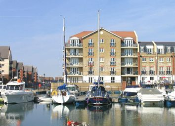 Thumbnail 2 bed flat to rent in The Piazza, Sovereign Harbour South, Eastbourne, East Sussex