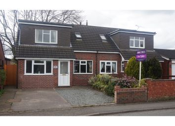 Thumbnail 3 bed semi-detached house for sale in Stoneley Road, Crewe
