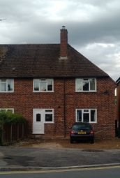 Thumbnail 1 bed semi-detached house to rent in Hawthorn Road, Newbury