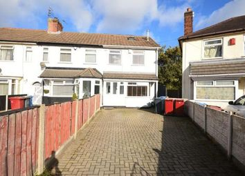 Thumbnail 3 bed end terrace house for sale in Coral Avenue, Huyton, Liverpool