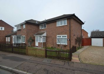 Thumbnail 3 bed semi-detached house for sale in Holworthy Road, Norwich