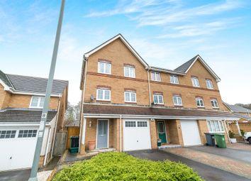 Thumbnail 3 bed town house for sale in Ferndown Close, Beggarwood, Basingstoke