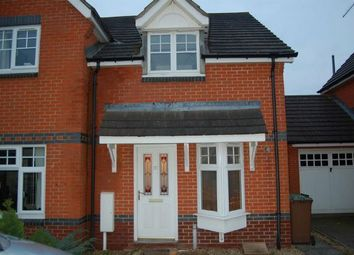 Thumbnail 2 bed semi-detached house to rent in Harrow Lane, Daventry, Northants