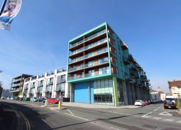 Thumbnail 1 bed flat to rent in Phoenix Street, Millbay, Plymouth