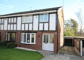Thumbnail 3 bed semi-detached house for sale in Augusta Close, Cronkeyshaw, Rochdale
