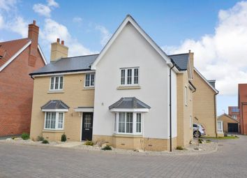 Thumbnail 4 bed detached house for sale in Chapmans Close, Little Canfield, Dunmow