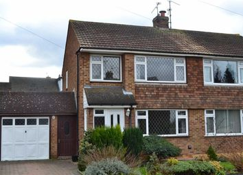 Thumbnail 3 bed property to rent in Bransgore Close, Rainham, Gillingham